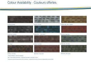 CRC/IKO Biltmore Colour Options
