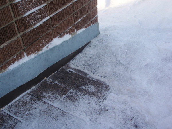 Ice Damming - Ice damming presents as excessive ice buildup around the edges of your roof. From your attic, you may be able to see light coming in at the outer edge of your roof.